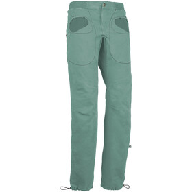 E9 Rondo Slim Trousers Men, sage green